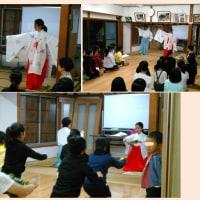 巫女の舞い練習開始の巻