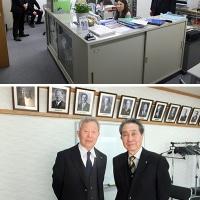ポートレートギャラーを運営する日本写真文化協会へ取材で訪問。