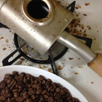 久しぶりのコーヒー作り