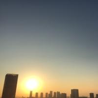 10/20の朝の空