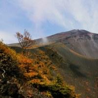 富士山 宝永火口の落葉松黄葉追い... パート2