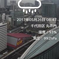 雨降り続いてます