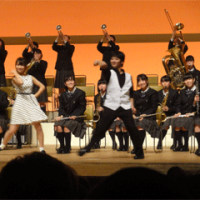 吹奏楽コンサートへ