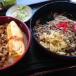 穴子丼と金目鯛!