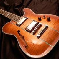楽器フェア出展ギター