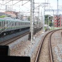 運転台かぶりつき・・東武野田線急行#2