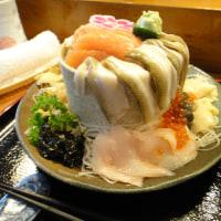 味処西陣の特盛り海鮮丼