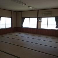 倉敷市栗坂の公民館改修工事も無事竣工