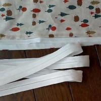 木々とハリネズミ柄の布団カバー 2