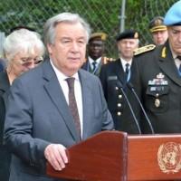 <タオルミナサミット>国連事務総長が慰安婦の日韓合意に「賛意」「歓迎」。テロ等準備罪法案批判「国連の総意ではない」。 安倍晋三首相との会談で。