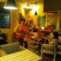 カズブーさん 6/28 土曜日 カークンカフェライブ 大盛り上がりで終了!♪ @木地雅茂