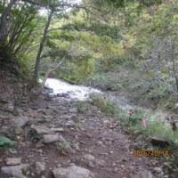 知床 カムイワッカ湯の滝