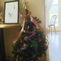 クリスマスツリーが・・
