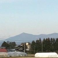 2444)南部晩秋2016 矢巾町(矢巾PAからの姫神山・岩手山)