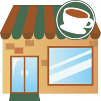 通いの喫茶店で