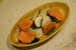 蕪と柿のサラダ(かぶとかきのさらだ)