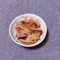 つまみ 大根と魚肉ソーセージの味噌炒め