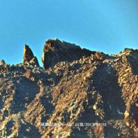 自宅からの溶岩ドーム