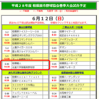 ≪試合日程≫