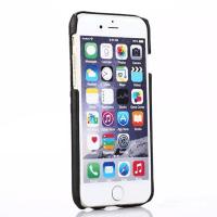ルイヴィトン 高級 レザー エンボス加工 大柄 iphone6s ケース シンプル 薄型 軽量放熱効果耐衝撃 バックケース 選べる四色 人気通販