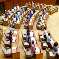 Okinawa Prefectural Assembly demands removal of US Marines from Okinawa