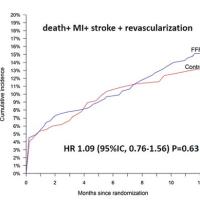 心臓の血管内の血圧が測れる(FFR)ワイヤーは有用でなかった研究