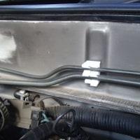 ブレーキ配管のクリップ交換