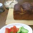 自家製パン焼きが始まり