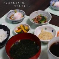 25日夕食 生姜焼きと26日の朝食