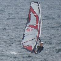 今日の津久井浜は南西6.5~7.0でウインドサーフィン!