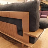 【1900mm超、厚板のクスの一枚板テーブル】お客様のお宅へ、お届けさせて頂きました。一枚板テーブルと木の家具の専門店エムズファニチャーです。