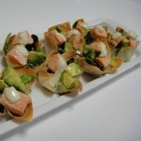 【レシピ】 ワンタンカップサラダ