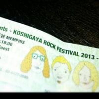 越ロックフェスティバル 2013 @ 越谷Memphis(5/25)
