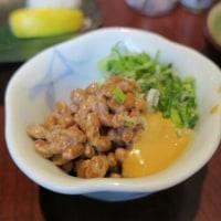 香港チムで焼き魚納豆定食~店名忘れましたー