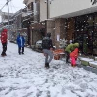 日曜日の雪だるま