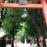*東京大神宮と赤城神社*