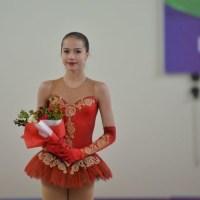 欧州ユース五輪 (EYOF) の アリーナ・ザギトワ