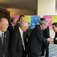 公明党「新春の集い」※北海道苫小牧総支部
