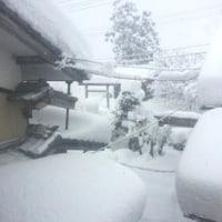 豪雪地帯?? (V)o¥o(V)無理です。ヒョエーーー