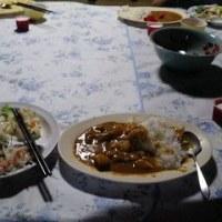 最後の晩ご飯