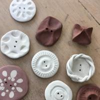 陶のボタン