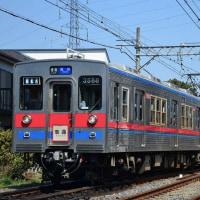 金町線を行く、京成3500形未更新車
