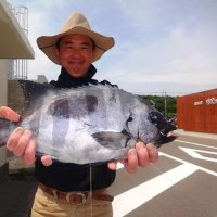 2017年5月22日~25日、薩摩川内市中ノ瀬灯台の釣果