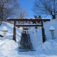 厚別(あしりべつ)神社でどんど焼き 2017