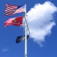 星条旗 in パールハーバー
