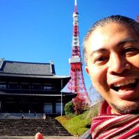 青空と東京タワーーー!(≧∇≦)