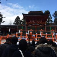 津からJRで春日大社初詣