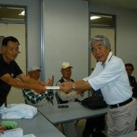 第13回パークゴルフ大会、優勝は熊谷さん!