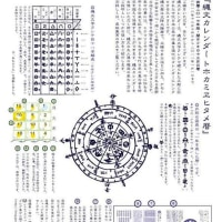 『縄文カレンダー』・『ほつまことほぎ』ワークショップのお知らせ。(3.28現在)