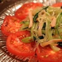 レシピ付き献立 麻婆なす・青梗菜の中華風サラダ・もやしと卵の炒め物
